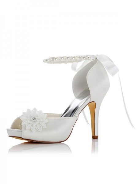 Cheap Satin Wedding Shoes SW037040A1I